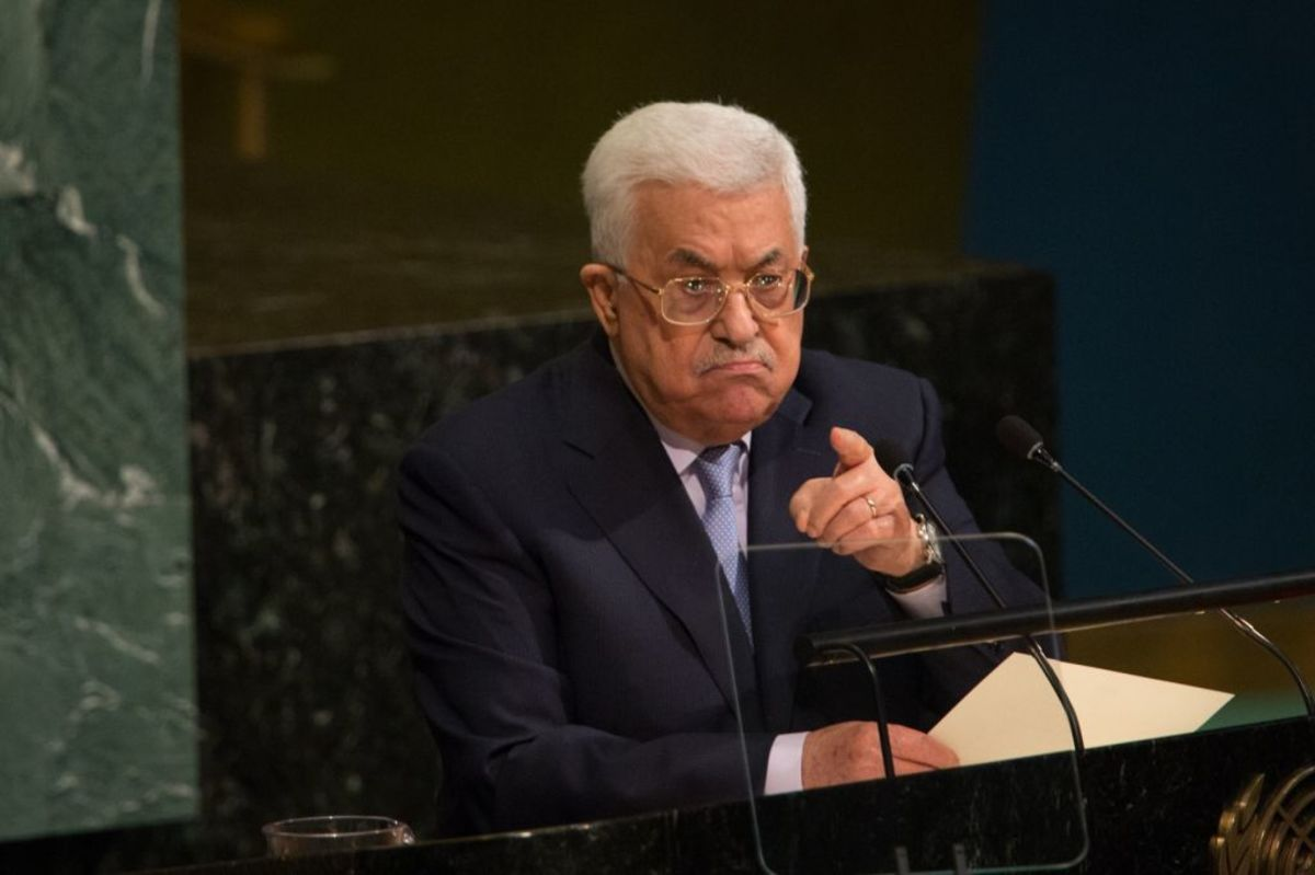 Palestinian President Shows the World Who He Really Is