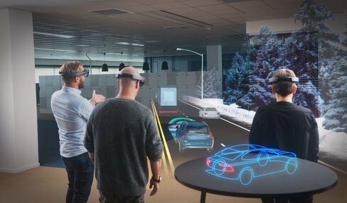 Volvo Microsoft HoloLens
