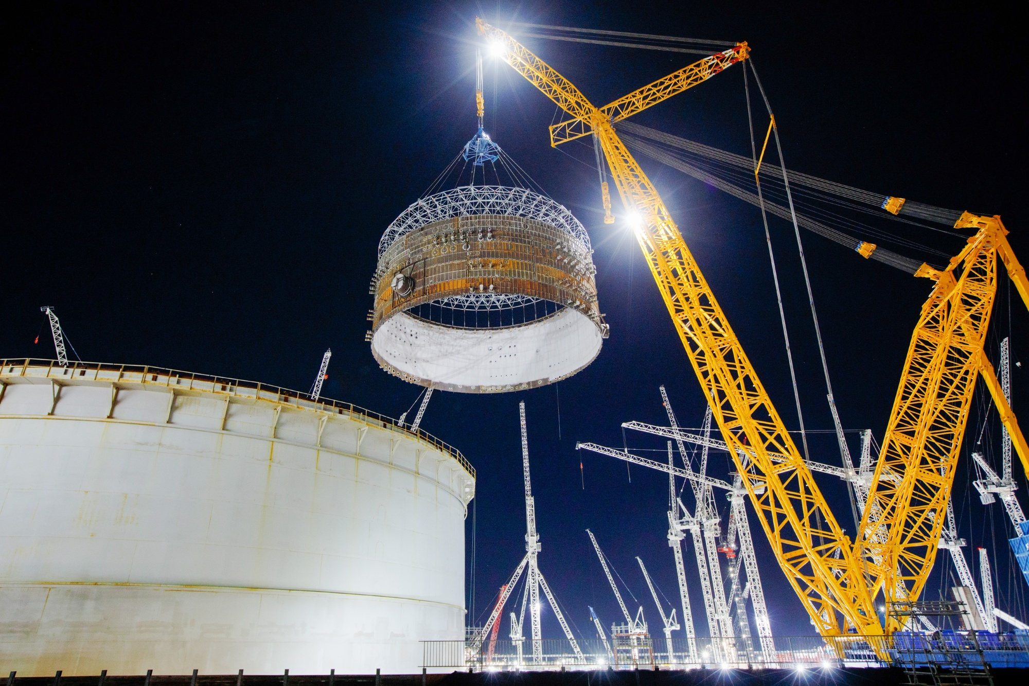 The project completion cost at Hinkley Point C is now estimated at 22 billion to 23 billion pounds.