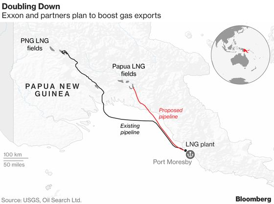 Tiny Pacific Island Nation Battles Oil Giant for LNG Profits