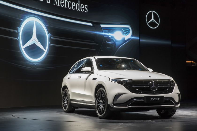 MercedesShows Offroad Looks for Concept Compact SUV in China