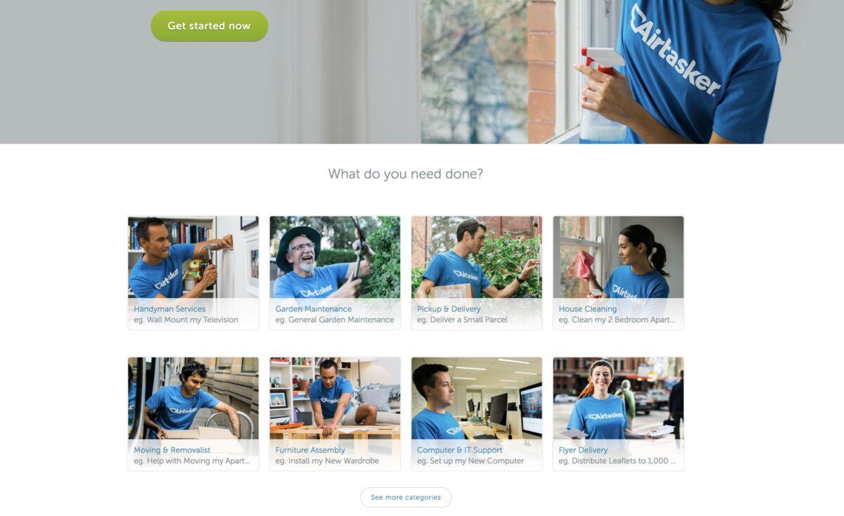 Airtasker Taking On Sharing Economy in TaskRabbit's
