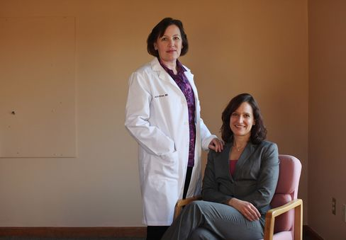Dr. Julie K. Silver and Diane Stokes