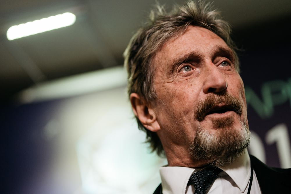 McAfee Is Said to Tap Morgan Stanley, Bank of America for