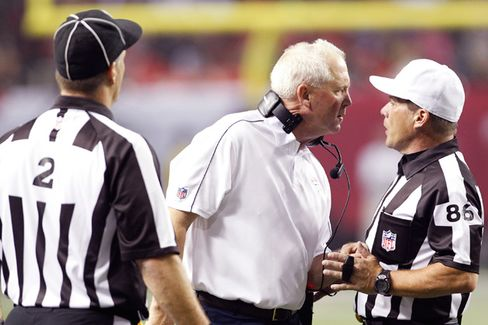 NFL Fans Get the 'Stakeholder' Treatment in Ref Dispute