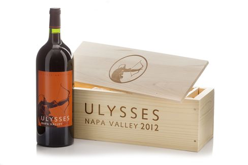 Ulysses Napa Valley 2012 bottle.