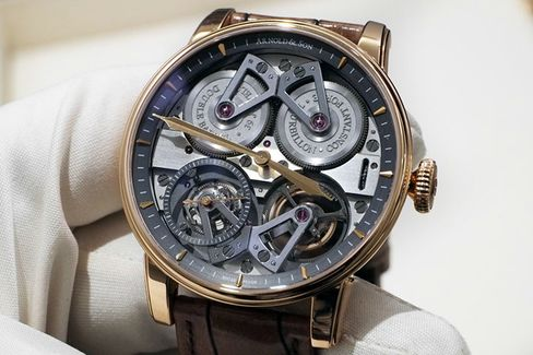 The Arnold & Son Constant Force Tourbillon is a watch for real nerds.