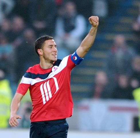 Lille's Eden Hazard Says He's Chosen to Join Chelsea Next Season