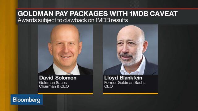 Goldman Sachs CEO David Solomon Compensation: $23 Million - Bloomberg