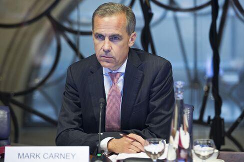 BOE Governor Mark Carney