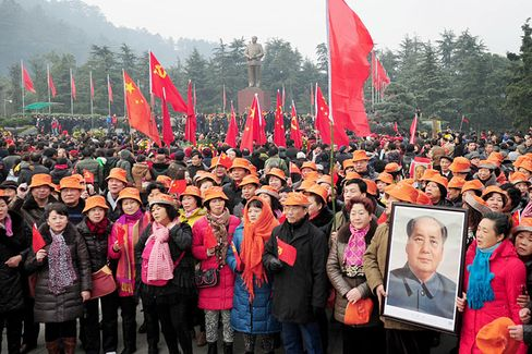 China Contemplates Mao's Legacy on His 120th Birthday
