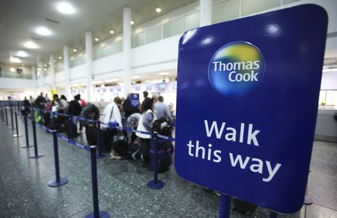 Thomas Cook Shares Plunge, Operator Cuts Profit Forecast