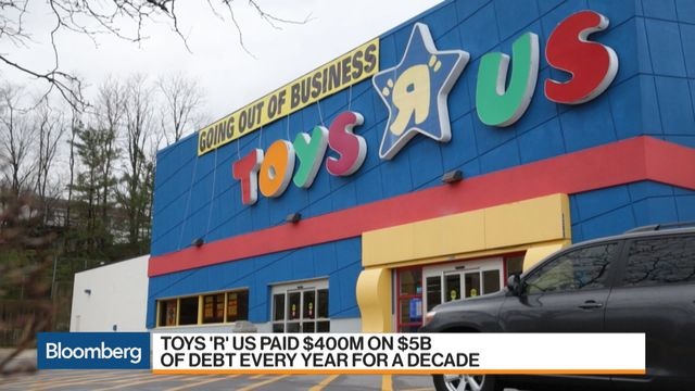 Toys R Us Lenders File Plan To Revive Brand Reopen Stores Bloomberg