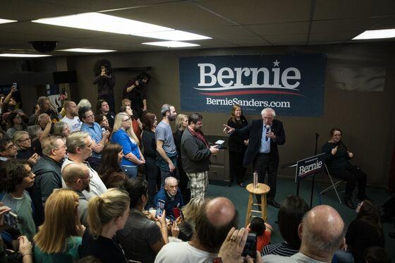 Bernie Sanders Has Some Fans In Finance, Though Few Want to Talk