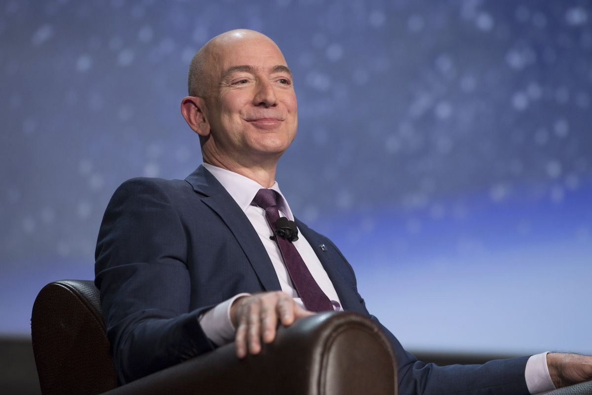 Wall Street Is Unfazed by Trump's Disdain of Bezos and Amazon