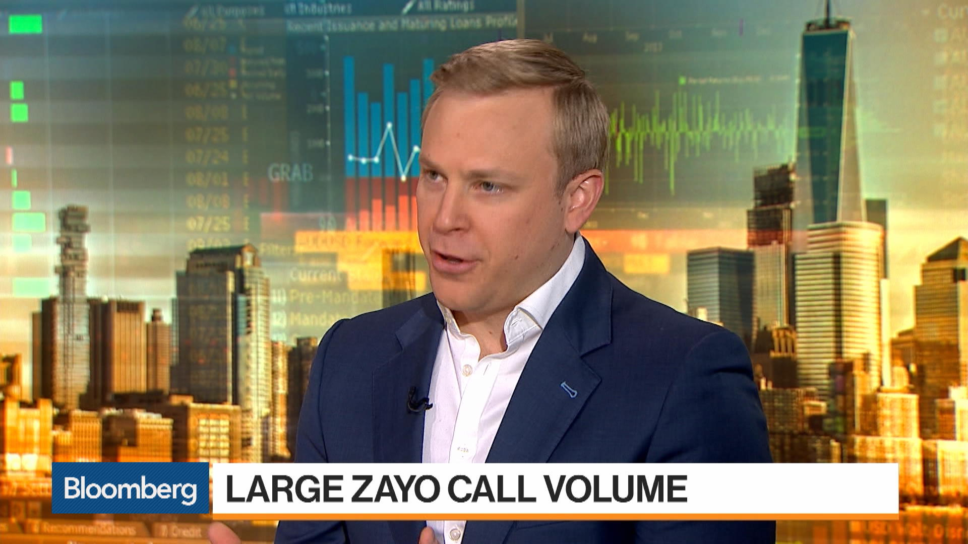 How Bechmark's Kevin Kelly Is Trading Zayo - Bloomberg