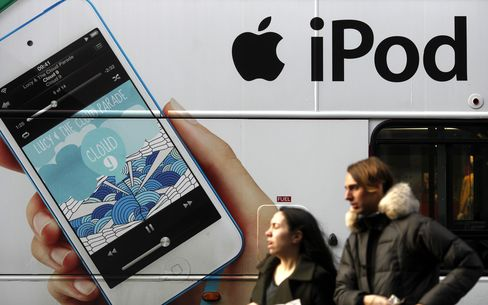 Apple Has Slowest Sales Gain Since '09 as Competition Climbs