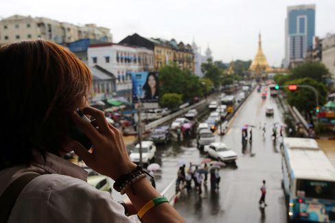 Myanmar Phone Contest Pits Soros Against SingTel