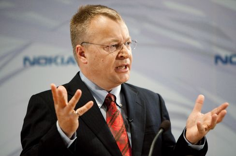 Stephen Elop, incoming CEO of Nokia