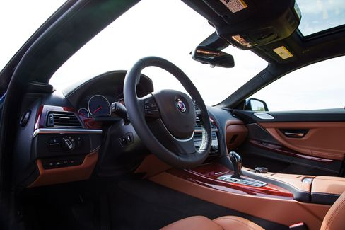 The interior of the car feels plush and warm, much more luxurious than other standard BMWs.