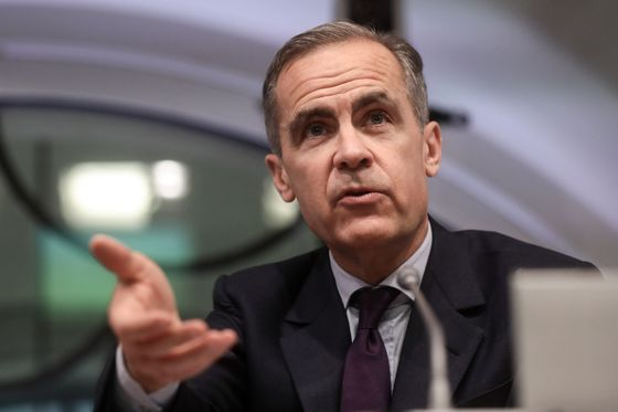 Carney Says Brexit Stress Tests for Banks 'Severe But Plausible'