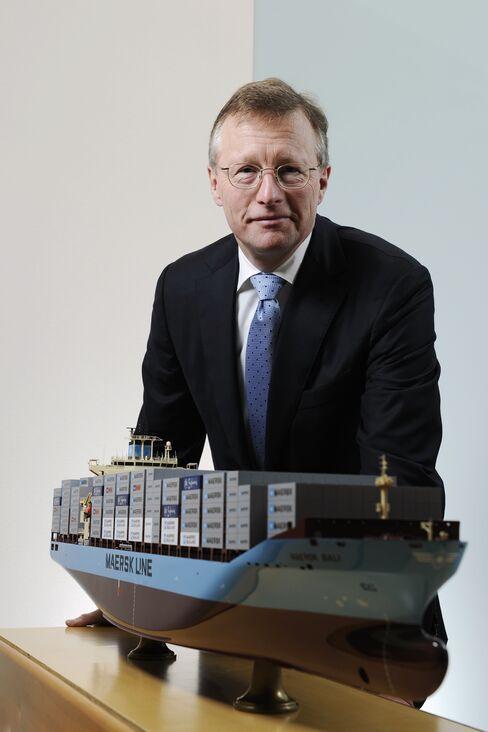A.P. Moeller-Maersk CEO Nils Smedegaar Andersen