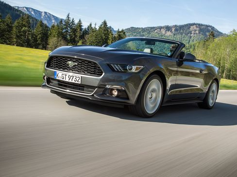 The 2015 convertible 2.3 EcoBoost Mustang
