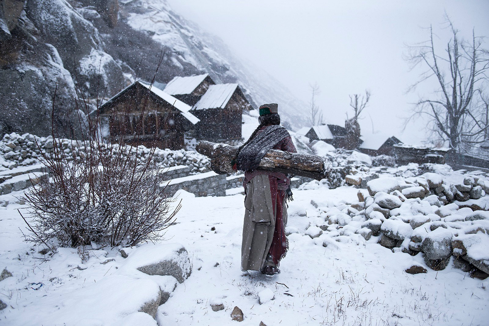 People Third Place: Remote Life at -21 Degrees