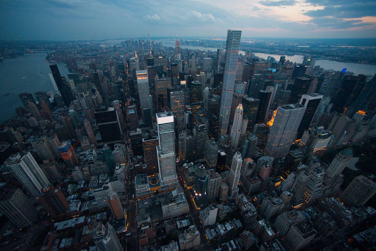 NYC Penthouse Gets Sliced in Two as Luxury Market Falters