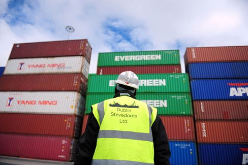 Ireland's Exports Keep the Economy Afloat