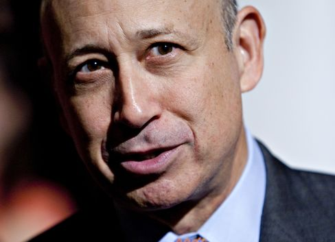 Lloyd Blankfein, CEO of Goldman Sachs Group