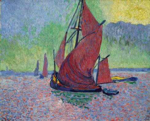 Derain's seascape painting