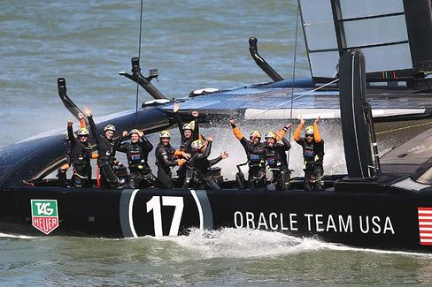 Larry Ellison Wins America's Cup and Its Hearts. Now Give Him an NFL Team