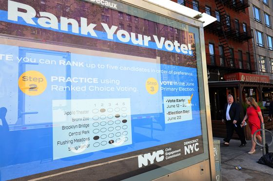 NYC Mayoral Election Baffles Voters With City's Revival at Stake