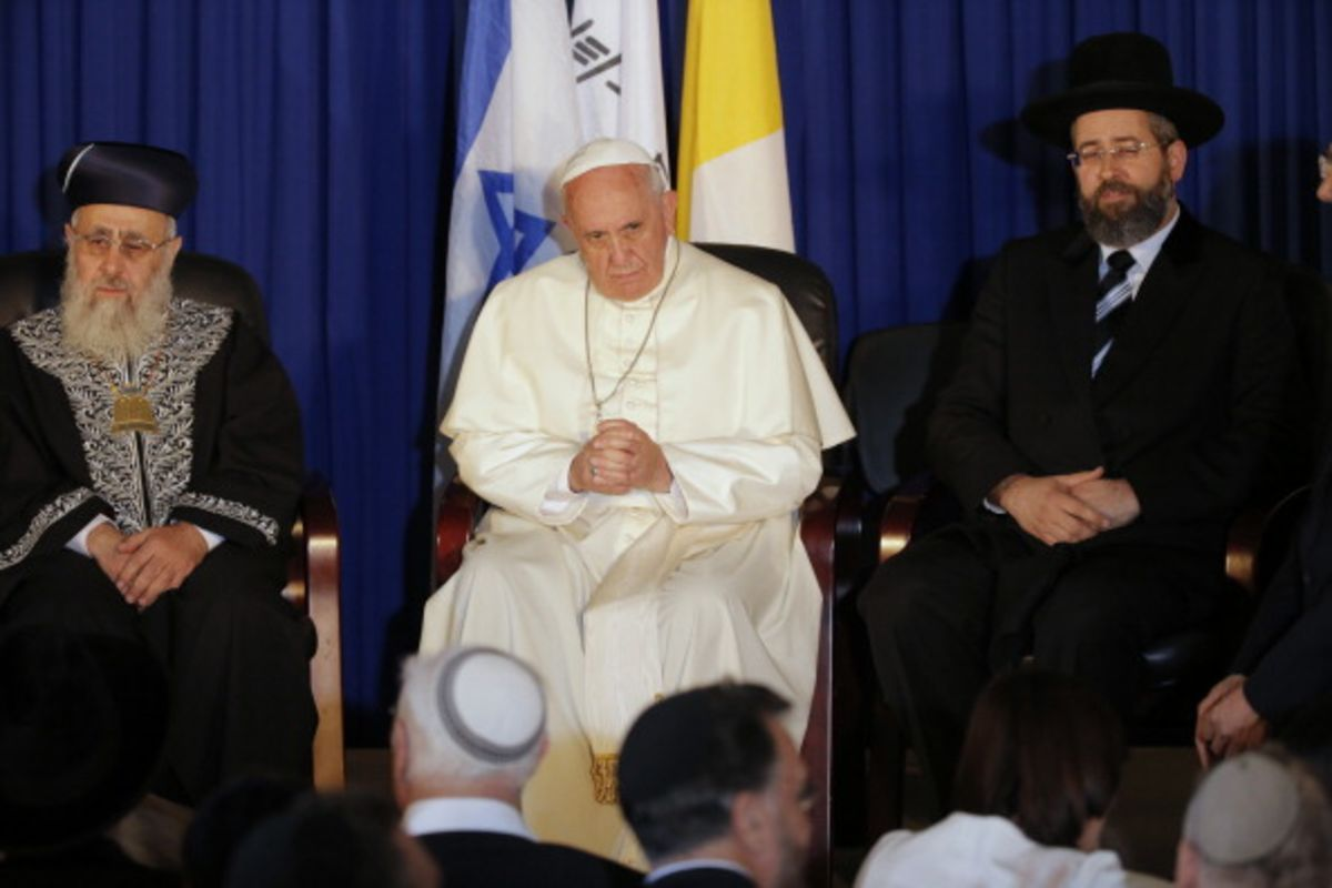 Should the Jews Have a Pope?