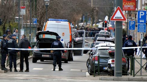 Counter Terrorism operation in Brussels