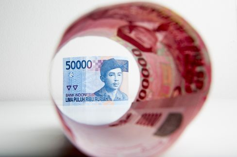 インドネシアのルピア紙幣