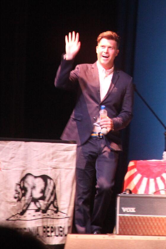 Colin Jost Pokes Fun at Hamptons Fundraiser as Jakob Dylan Plays