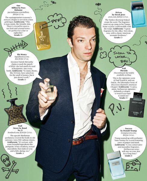 Power Colognes: A Smell Test