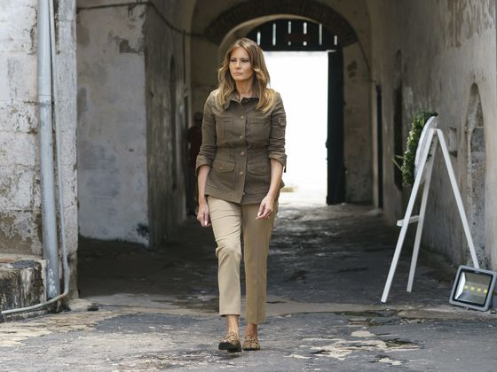 Melania Trump Visits 17th Century Slave-Trade Castle in Ghana