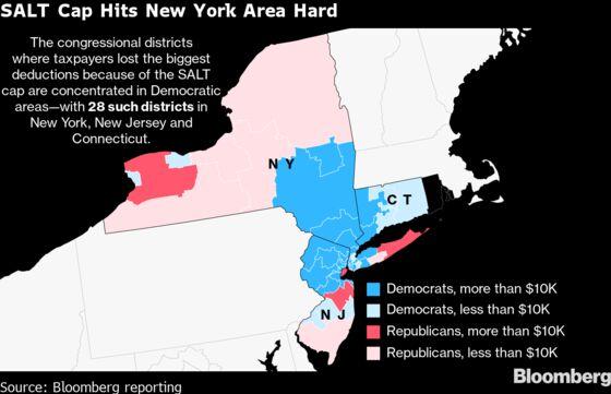SALT Cap Revolt Led by N.Y. Democrats Snarls Biden Spending Plan