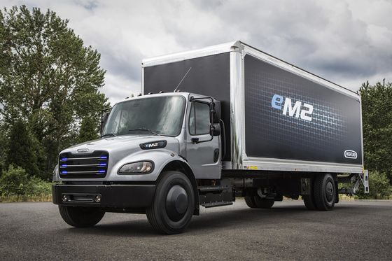 Daimler Adds Two Electric Trucks in Race Against Tesla, VW