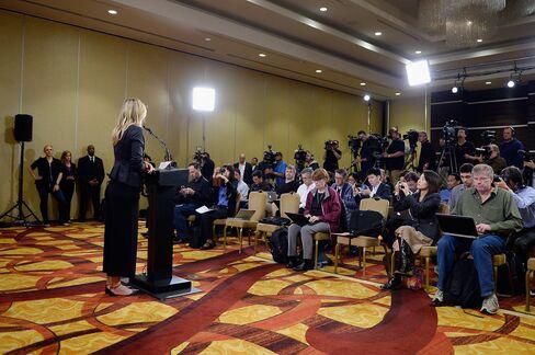 Maria Sharapova addresses the media regarding her failed drug test in Los Angeles on March 7, 2016.