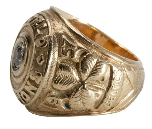 Red Auerbach's 1957 NBA Title Ring