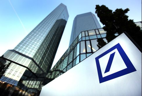 Deutsche Bank Said to Be Asked by Bafin to Simulate Split