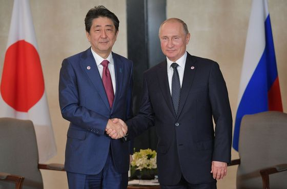 Dying Father's Dream Drives Abe to Seek Peace on Putin's Terms