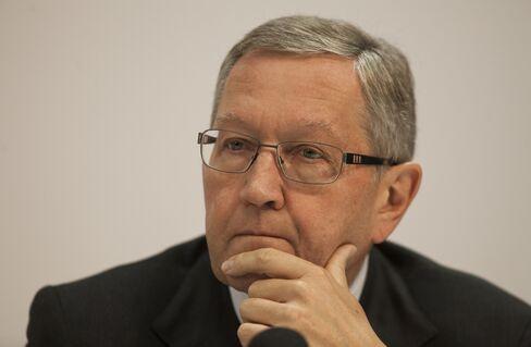 European Financial Stability Facility CEO Klaus Regling
