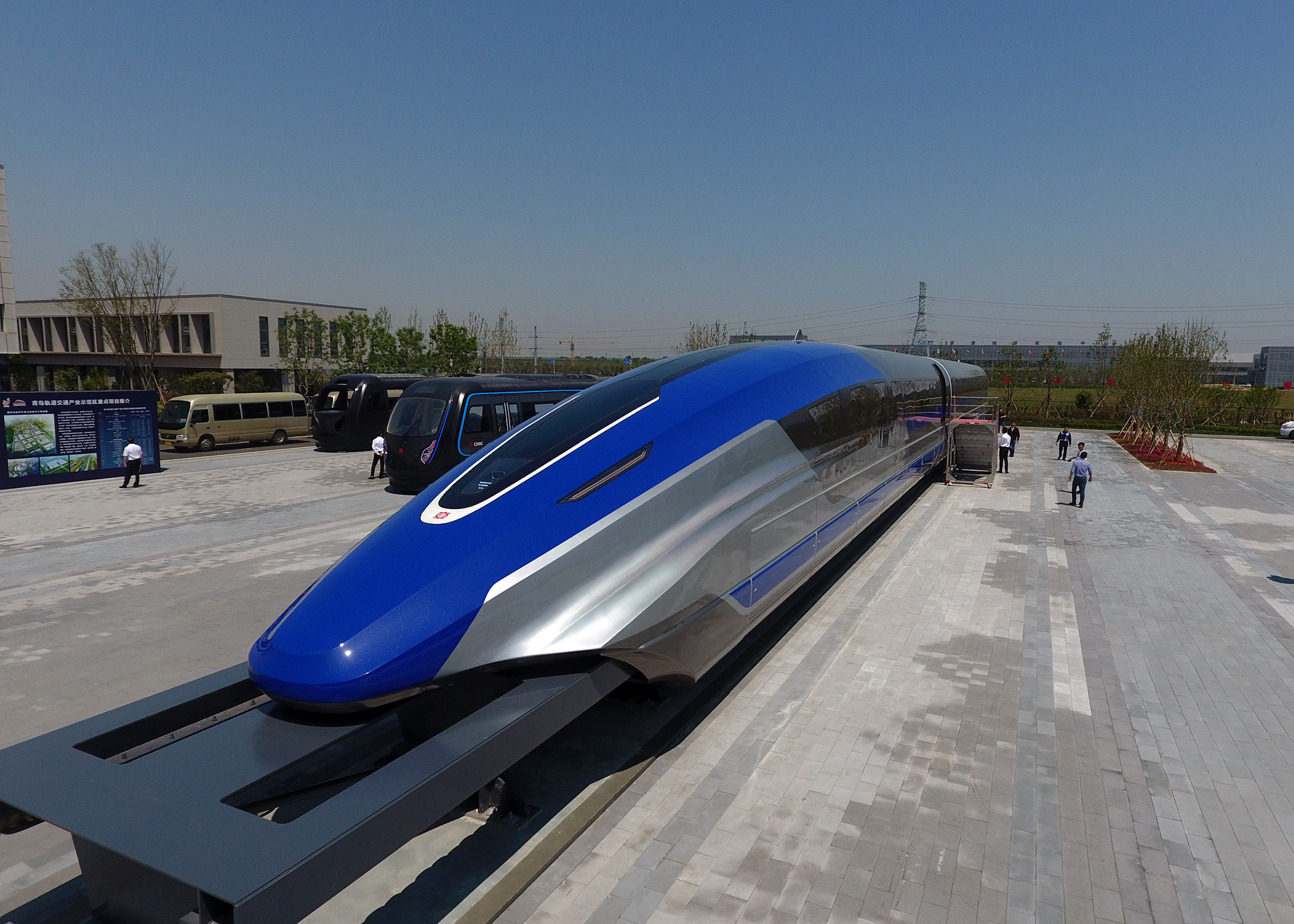 China Unveils 600 kph Maglev Train Prototype In Qingdao