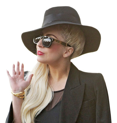 Lady Gaga is an investor in Backplane, Lonsdale's social media site