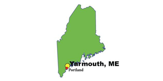 Most Expensive Suburb in Maine: Yarmouth